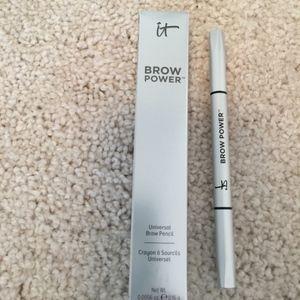 NIB It Cosmetics Brow Power Universal Pencil Taupe